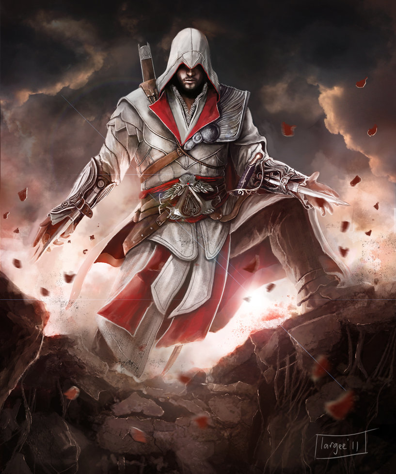 Ezio Auditore The Assassin S Fan Art 35015303 Fanpop