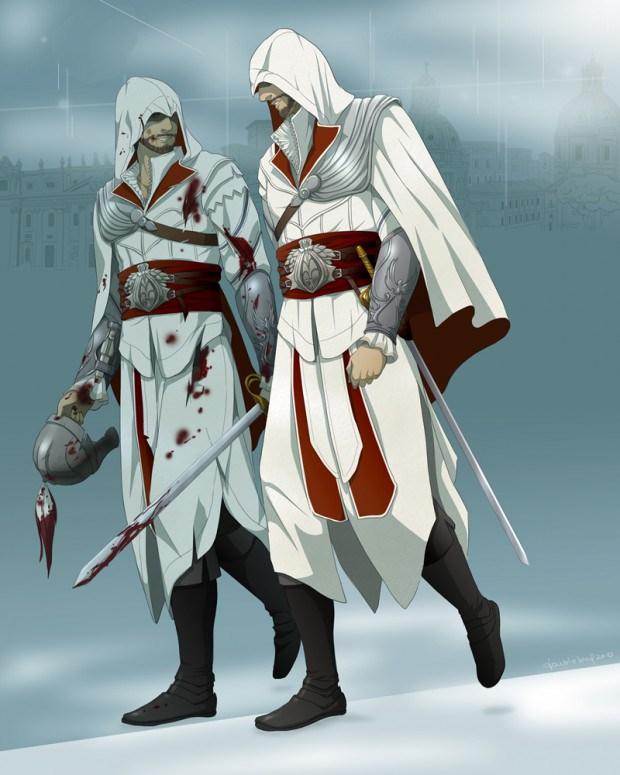 Ezio Auditore The Assassin S Fan Art 35015304 Fanpop