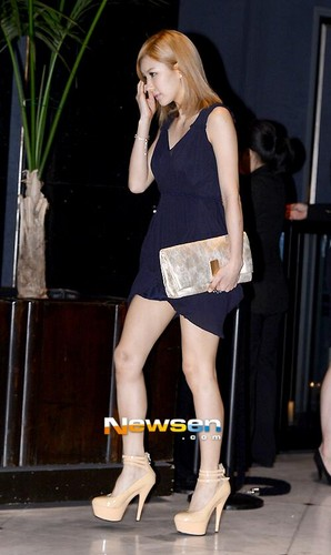 FLICKS 130716 JungAh & Juyeon at 'Fall 2013 Bfidal Collection' Fashion Show