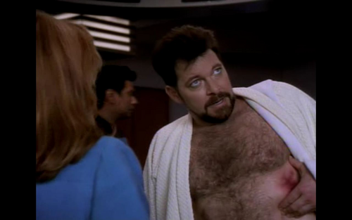 Beyond Belief: Fact atau Fiction wallpaper called Frakes nip slip *scandal*