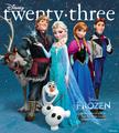 ফ্রোজেন - ডিজনি Twenty Three Magazine Fall 2013