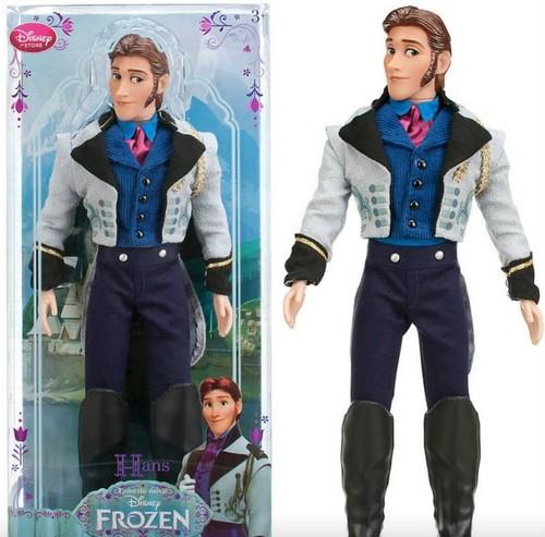 Frozen Hans Doll