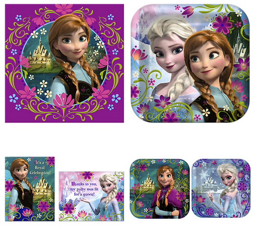 Frozen Party Supplies - frozen Photo