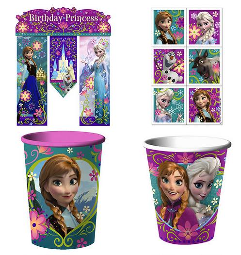 Disney Frozen Party Supplies Walmart