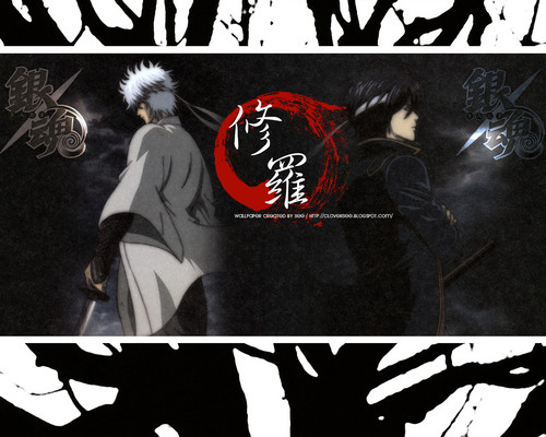 gintama wallpaper containing animê called GINTAMA!!