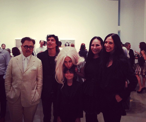 Gaga at ARTPOP abendessen (July 11)