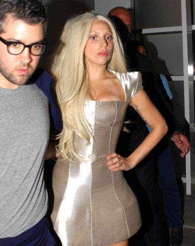 Gaga leaving ARTPOP avondeten, diner (July 11)