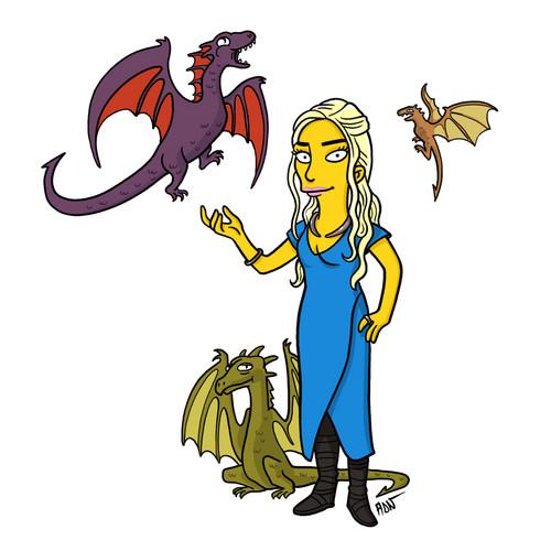Game of Thrones/ Simpsonized