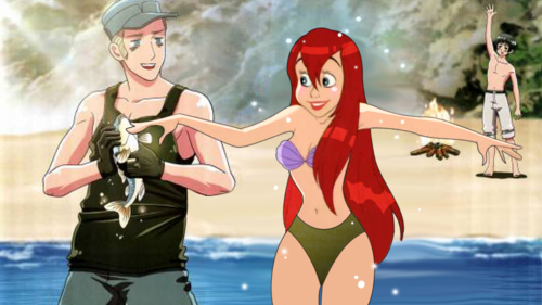 Germany and Ariel