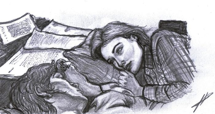 таймлесс рисунки гвендолин и гидеона