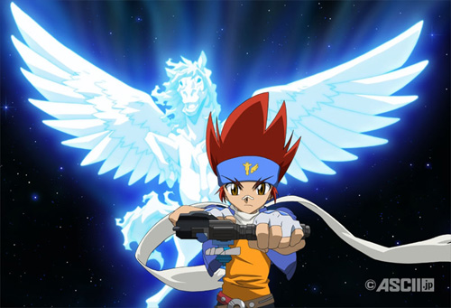 Beyblade Metal Fusion wallpaper possibly containing anime called Gingka Hagane!<3