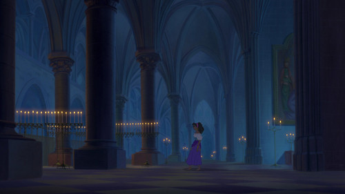 The Hunchback of Notre Dame wallpaper with a high altar titled God Help the Outcast