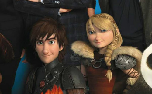 HTTYD 2 The new hiccup and astrid