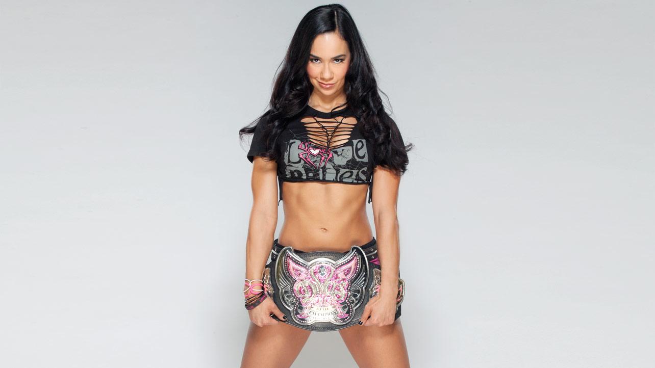 AJ Lee Hall Of Divas Champions