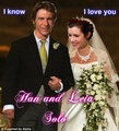 Han and Leia's Wedding Portrait