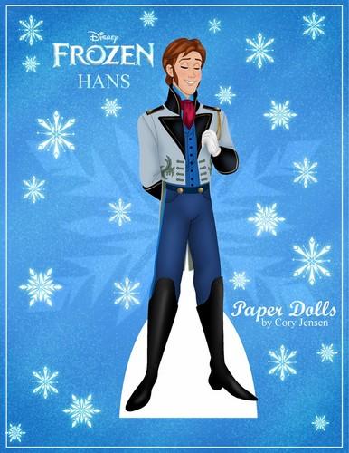 Hans Paper Doll