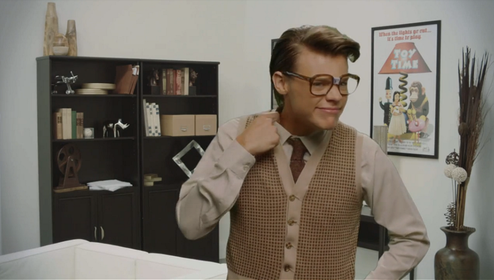 Harry Styles Marcel Harry Styles as Marcel