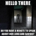 Hello There - the-slender-man photo