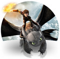 Hiccup and Toothless from HTTYD 2