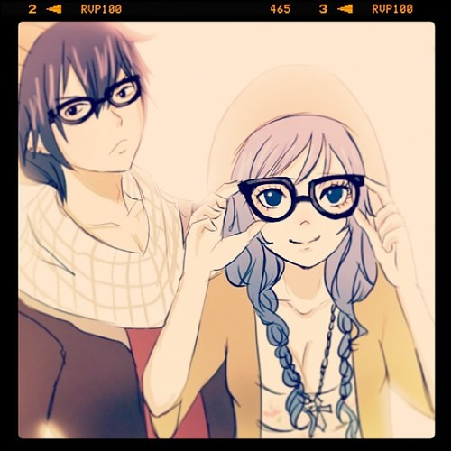 Hipster Gray and Juvia