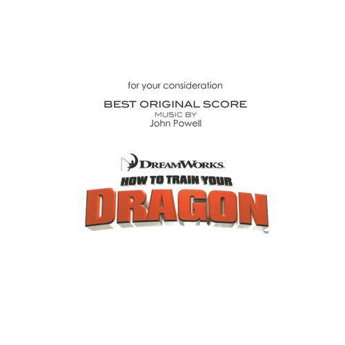How To Train Your Dragon Soundtrack CD Covers