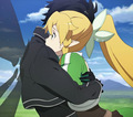 Hug! XD - sword-art-online photo