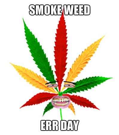 Marijuana wallpaper titled I am HIGH