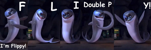 I'm Flippy! F-L-I-Double P-Y! :D