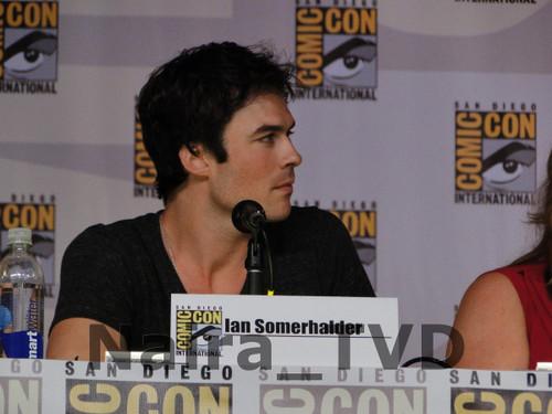 Ian at Comic Con 2013: TVD Panel
