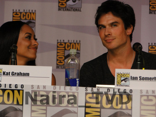 Ian at Comic Con 2013: TVD Panel