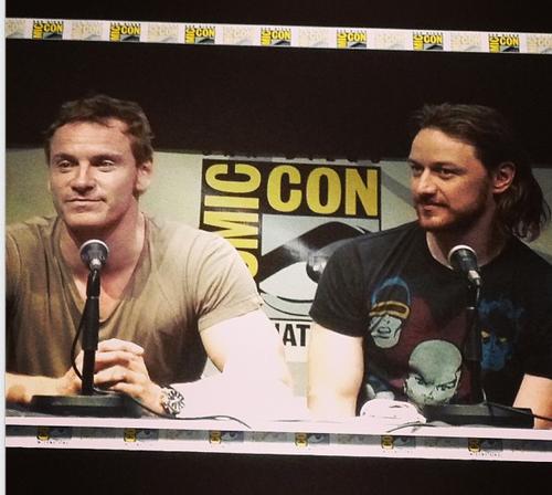 James & Michael - Comic Con 2013