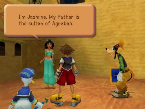melati In Kingdom Hearts