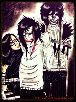 Jeff the killer hình nền with anime called Jeff The Killer