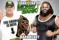John cena or mark henry - wwe fan art