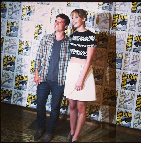 Josh and Jen at SDCC