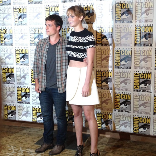 Josh and Jen at SDCC