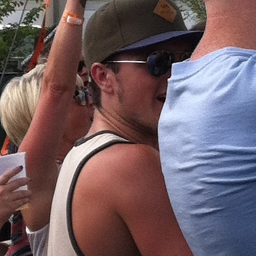 Josh at the Bunbury festival in Cincinnati, OH [07.12.13]