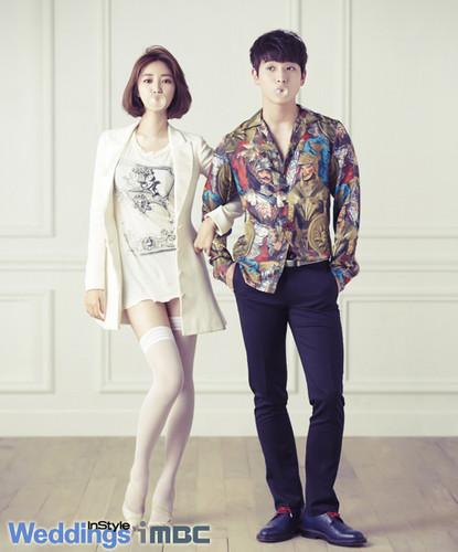 Jung Jin Woon & Go Joon Hee 'WGM' wedding fotos