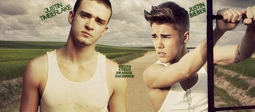 Justin Bieber & Justin Timberlake - Cover's facebook