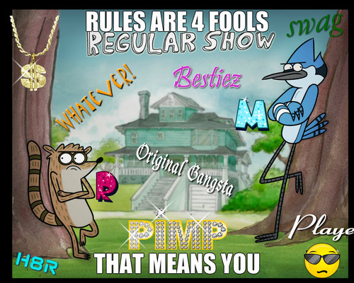 KEEP YOUR STUPID RULES