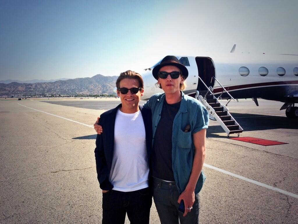 Jamie Campbell Bower and Jamie Campbell Bower And Kevin Zegers