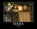 King Julien & Baby Fossa poster