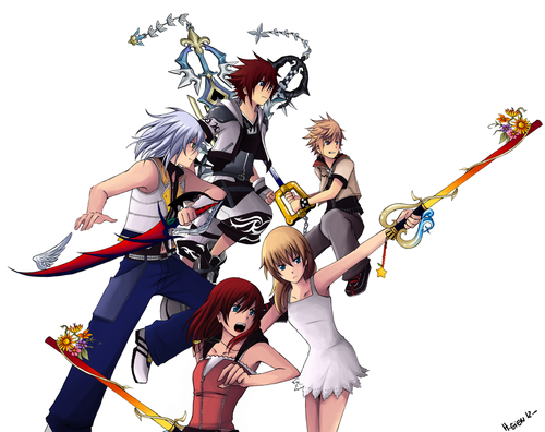 Kingdom Hearts Обои called Kingdom Hearts!<3