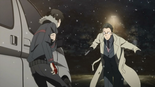 Kirito fighting Sugou