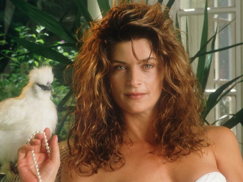 Kirstie Alley wallpaper probably with a cockateel and a homing pigeon entitled Kirstie Alley