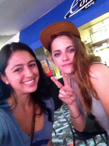 Kristen with a shabiki