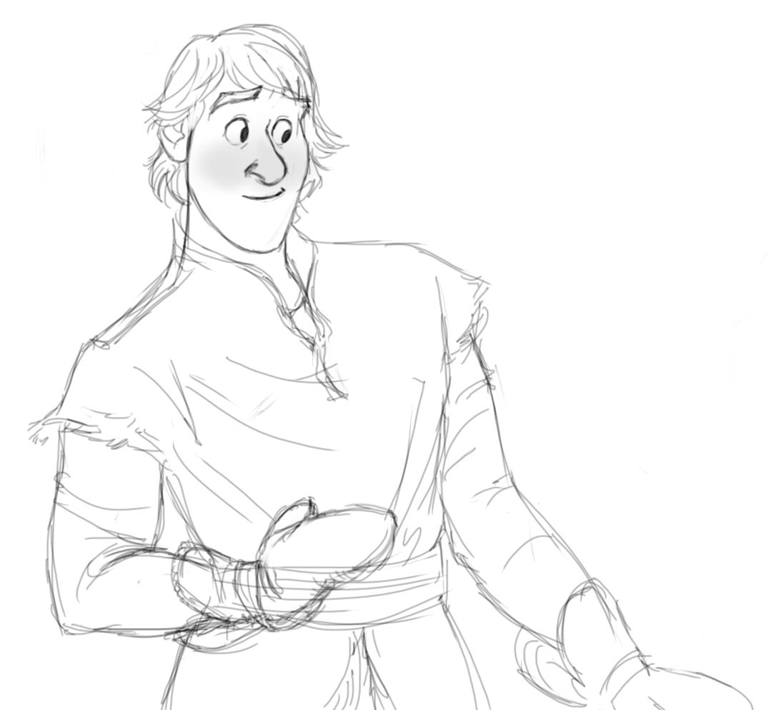 Frozen KristoffHow To Draw Kristoff From Frozen Easy