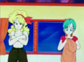 Launch and Bulma are changing their clothes... (Dragon Ball Screenshots) - dragon-ball-females photo