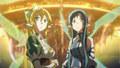 Leafa and Asuna