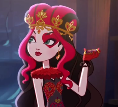 Ever After High wallpaper called Lizzie Hearts
